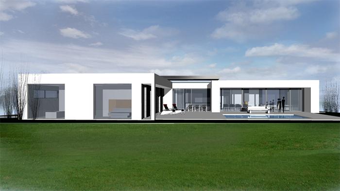 Architekten Bungalow diline architektur